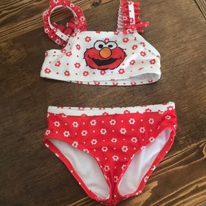 Other - Baby girls Elmo 2 piece swimsuit